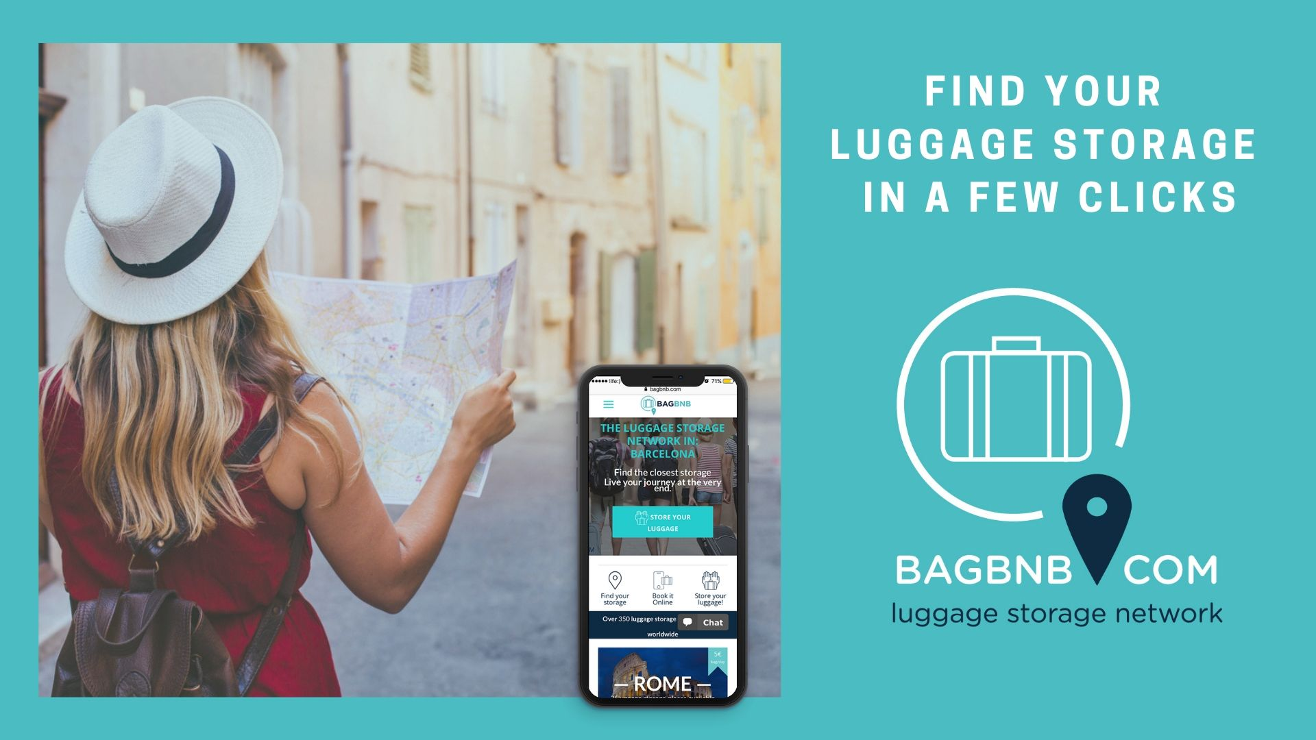 The Luggage Storage Network | BAGBNB