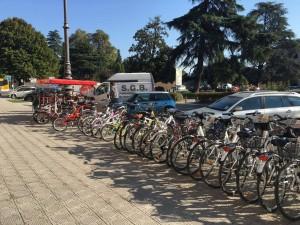 Luggage storage and bike rental Lucca