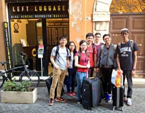Gepäckaufbewahrung Campo de Fiori